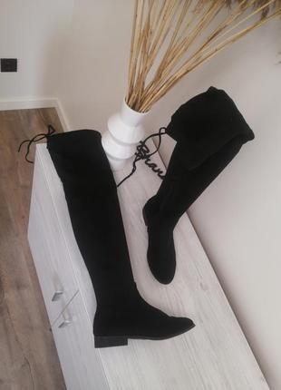 Шикарные ботфорты ботинки сапоги