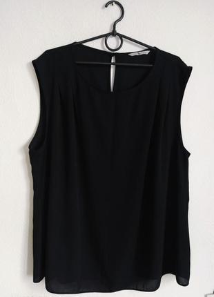 Шифоновая блуза с защипами