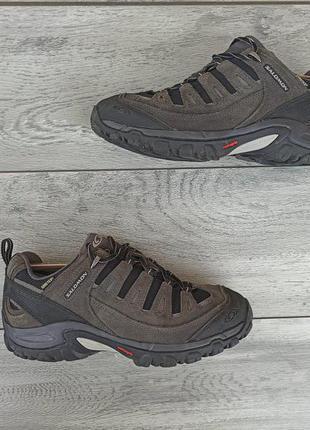 Salomon gore-tex мужские низкие ботинки оригинал 41 размер