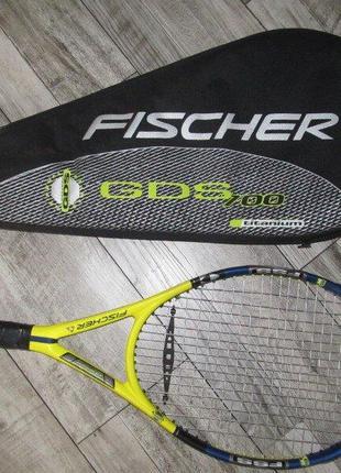 Ракетка для большого тенниса fischer gds fss rally titanium чехол австрия оригинал