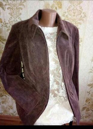 Вельветовая куртка пиджак