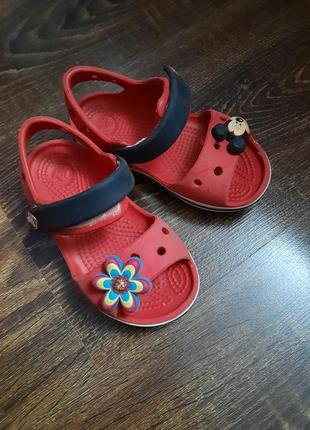 Кроксы сандали crocs