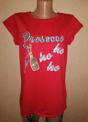 Стильная женская футболка f&f