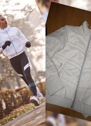 Куртка спортивная, adidas,  куртка на синтепоне.