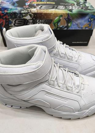 Кожаные ботинки skechers hypno flash 2.0 демисезонные, р.37