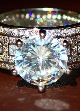Кільце срібне колечко серебро  широкое кольцо