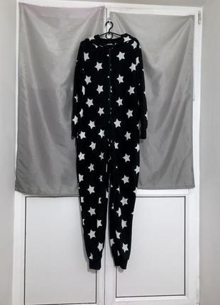 Кигуруми пижама теплая флисовая