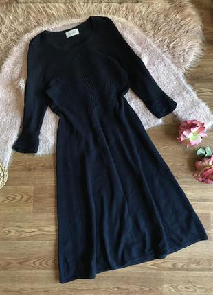 Вязанное платье (м/l)