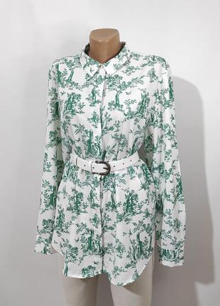 Сорочка з принтом\блуза\рубашка с принтом