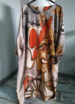 Платье в стиле бохо left-lefty