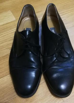 Классические туфли оксфорды bally
