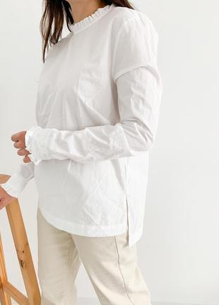 Хлопковая блузка h&m