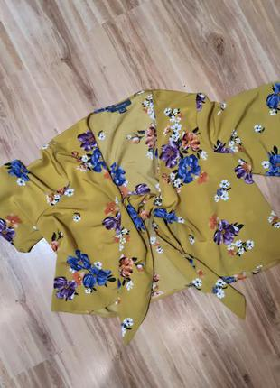 Блуза кроп топ  primark
