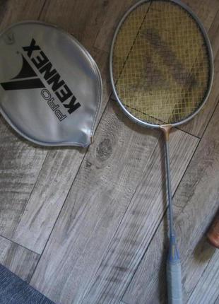 Ультралегкая атакующая ракетка для бадминтона pro kennex 20i чехол оригинал.
