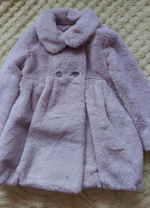 Пальто шубка  3 года  mayoral
