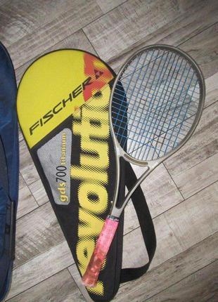 Ракетка для большого тенниса prince cts lightning 90 graphite чехол
