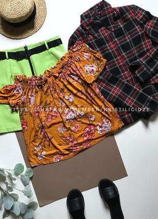 Последняя цена! красивая блуза с открытыми плечами р. 14 42 xl eur 50