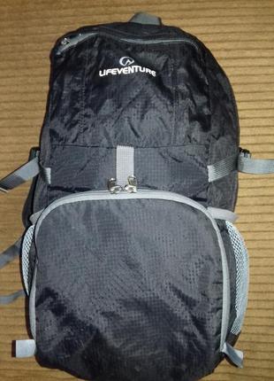 Рюкзак lifeventure складывающийся. легкий. 20- 25л.