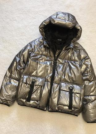 Брендовая тёплая куртка lauren vidal