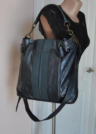 Кожаная сумка libeskind / шкіряна сумка
