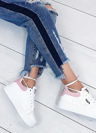 Белые кеды, кроссовки 36 размера