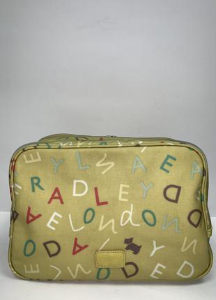 Англия! большая  фирменная обьемная сумка- косметичка  radley.