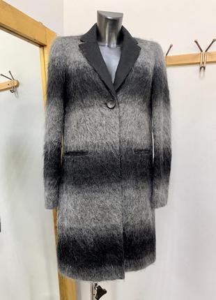 Пальто шерстяное пальто прямой крой