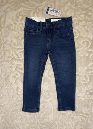 Утеплённые флисом джинсы термо тёплые