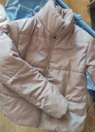 Мега крутая деми курточка зефирка еврозима