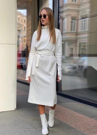 Платье тёплое из ангоры