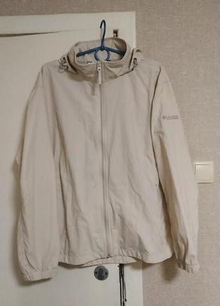 Columbia куртка ветровка с капюшоном женская