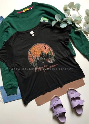 Последняя цена! стильная футболка р. xl 14 42 eur 50