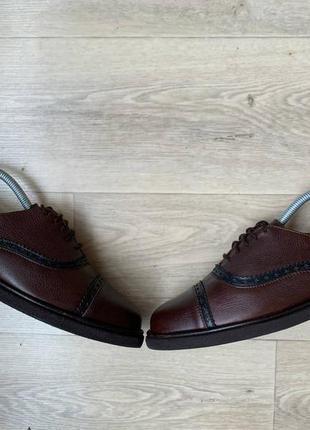 Туфли броги bally rinaldo suisse