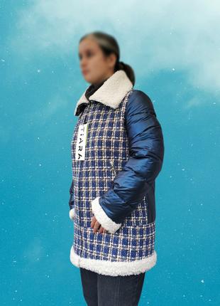 Оригинальная женская куртка, еврозима, качество отличное,см.замеры в описании