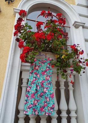 Платье плаття сукня цветочное квіткове