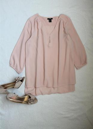 Элегантная бежевая блузочка от h&m, размер s