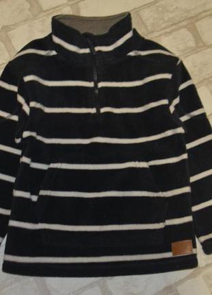 Флисовый свитер флиска rebel 5-6 лет рост 110-116