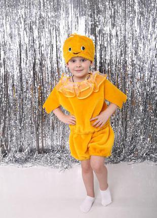 Детский маскарадный костюм цыпленок курча курочка