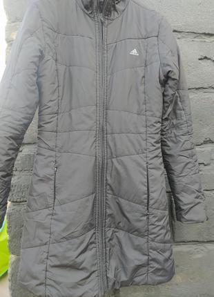 Удлиненная куртка adidas