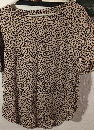 Женственная комфортная блуза h&m