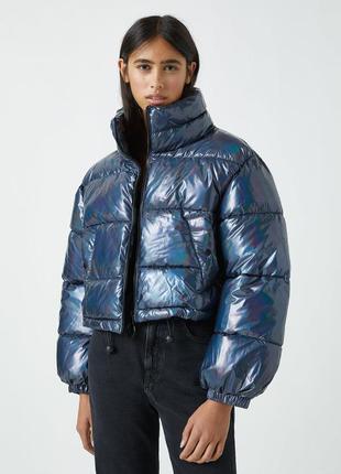 Куртка пуффер pull&bear