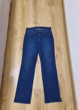 Новые прямые синие джинсы