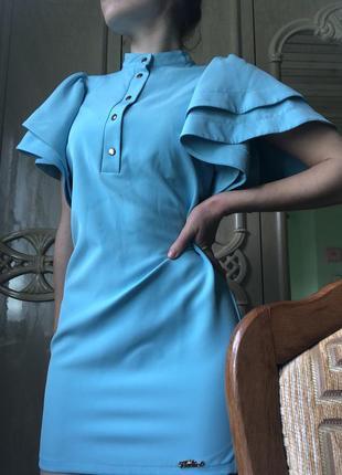 Нежное и оригинальное платье