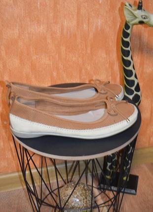 6 1/2 р. европа🇪🇺 footglove , нубук . фирменные качественные комфортные туфли