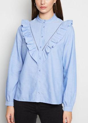 Рубашка из коттона встиле оксфорд new look