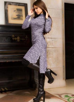Платье - туника с разрезами м-l / большая распродажа!