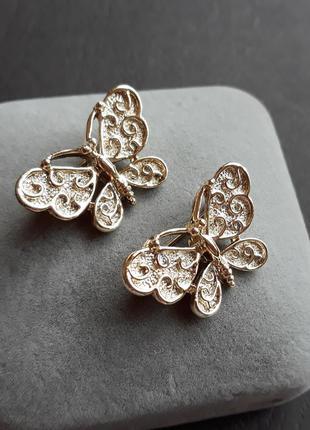Парні вінтажні брошки- метелики від gerry's!  винтажная брошь америка