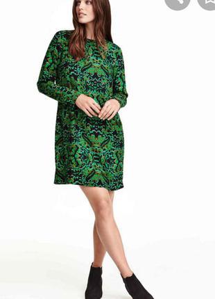 Плаття зелене