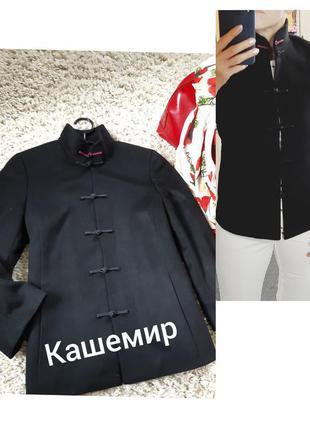 Шикарное кашемировое полупальто,  рукав 3/4,artistic palace, p.s