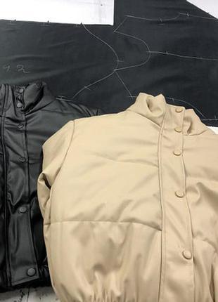 Куртка еко-кожа